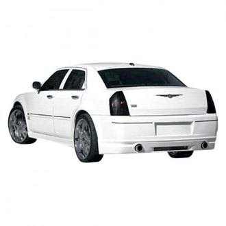 Duraflex® - VIP Style Fiberglass Rear Bumper Lip Under Spoiler Air Dam (Unpainted)