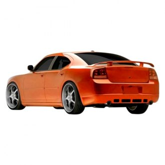 Duraflex® - VIP Style Fiberglass Rear Lip Under Spoiler Air Dam (Unpainted)