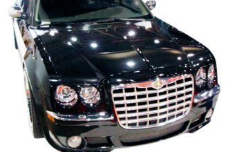 Image may not reflect your exact vehicle! Duraflex® - Platinum Style Fiberglass Front Bumper Cover (Unpainted)