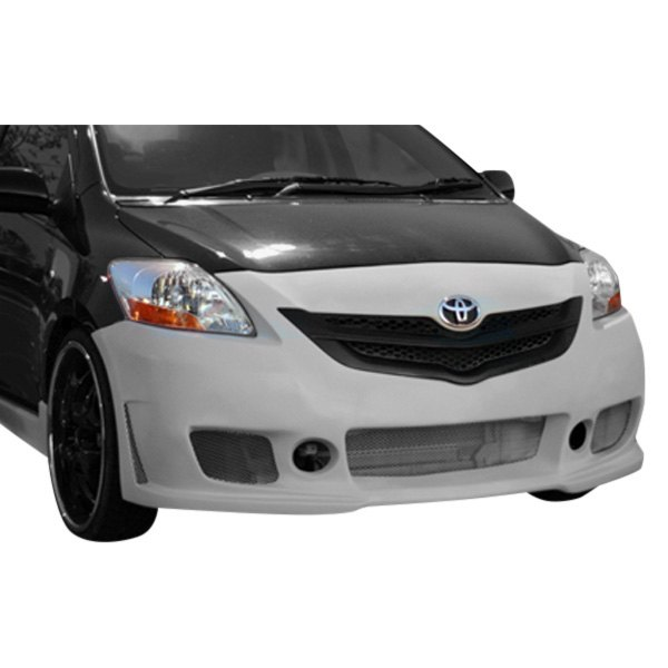 Image may not reflect your exact vehicle! Duraflex® - B-2 Style Fiberglass Front Bumper Cover (Unpainted)