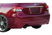 Image may not reflect your exact vehicle! Duraflex® - B-2 Style Fiberglass Rear Bumper Cover (Unpainted)