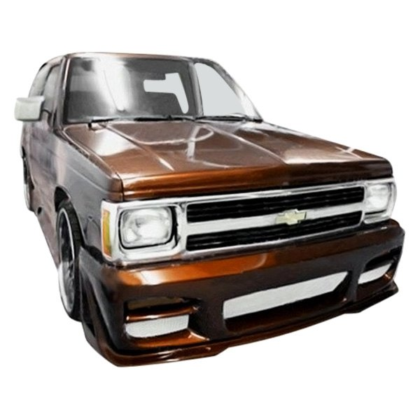 Image may not reflect your exact vehicle! Duraflex® - R34 Style Fiberglass Front Bumper Cover (Unpainted)
