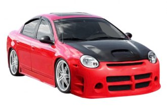 Image may not reflect your exact vehicle! Duraflex® - Viper Style Fiberglass Front Bumper Cover (Unpainted)