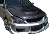 Image may not reflect your exact vehicle! Duraflex® - G-Speed Style Fiberglass Front Bumper Cover (Unpainted)
