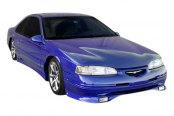 Image may not reflect your exact vehicle! Duraflex® - Racer Style Fiberglass Body Kit (Unpainted)