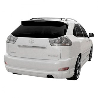 Duraflex® - W-1 Style Fiberglass Rear Lip Under Spoiler Air Dam (Unpainted)