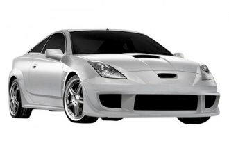 Image may not reflect your exact vehicle! Duraflex® - GT300 Style Fiberglass Wide Body Kit (Unpainted)
