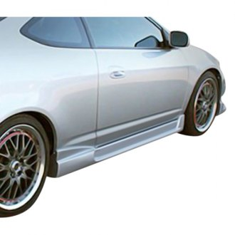 Duraflex® - I-Spec 2 Style Fiberglass Side Skirts Rocker Panels (Unpainted)