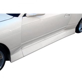 Duraflex® - B-Sport Style Fiberglass Wide Body Side Skirts Rocker Panels (Unpainted)
