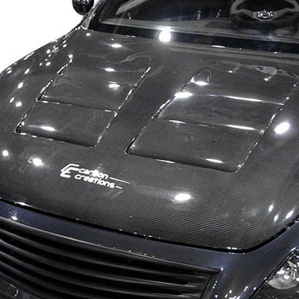 Image may not reflect your exact vehicle! Duraflex® - GT Concept Style Fiberglass Hood (Unpainted)