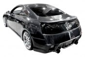 Image may not reflect your exact vehicle! Duraflex® - GT Concept Style Fiberglass Rear Bumper Cover (Unpainted)