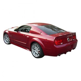 Duraflex® - GT500 Style Wide Body Front and Rear Fender Flares (Unpainted)