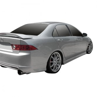 Duraflex® - J-Spec Style Fiberglass Side Skirts Rocker Panels (Unpainted)