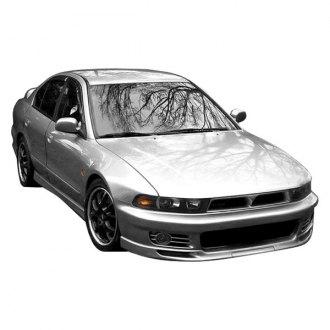 duraflex vr4 style fiberglass front bumper cover unpainted - Mitsubishi Galant 2002 Body Kit