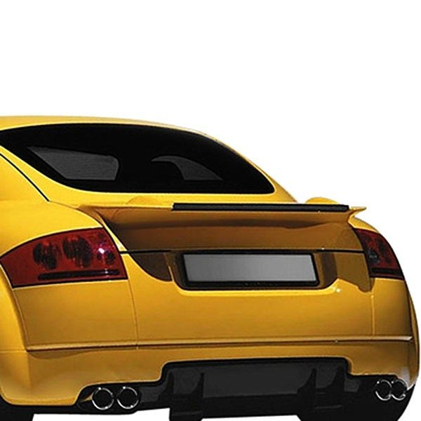 Image may not reflect your exact vehicle! Duraflex® - Type A Style Fiberglass Rear Wing Spoiler (Unpainted)