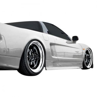 Duraflex® - BS Design Style Fiberglass Side Skirts Rocker Panels (Unpainted)