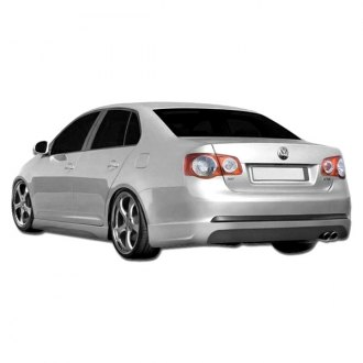 Duraflex® - Executive Style Fiberglass Rear Bumper Lip Under Spoiler Air Dam (Unpainted)