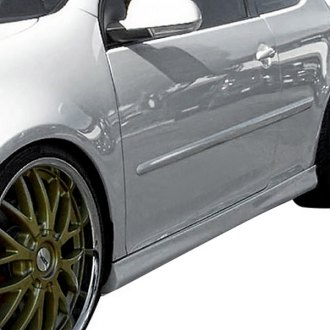 Duraflex® - Votex Style Fiberglass Side Skirts Rocker Panels (Unpainted)