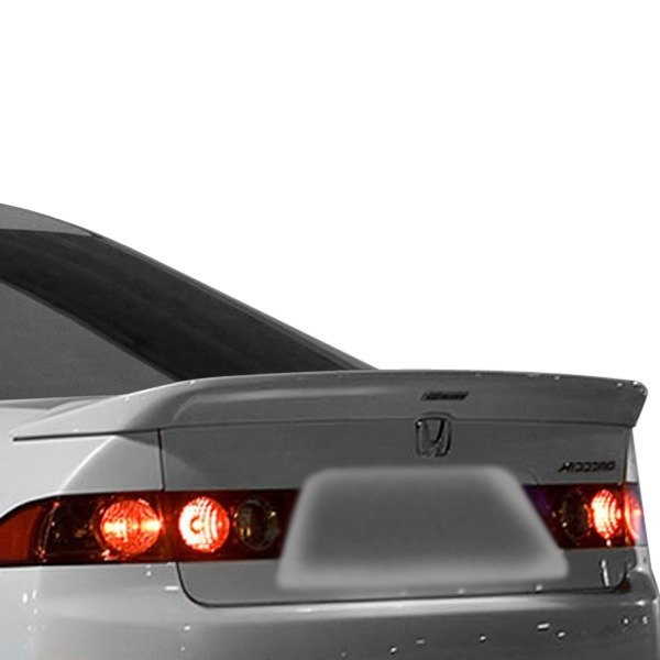 Image may not reflect your exact vehicle! Duraflex® - Type M Style Fiberglass Rear Lip Spoiler (Unpainted)