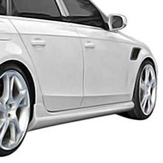 Duraflex® - A-Tech Style Fiberglass Side Skirts Rocker Panels (Unpainted)