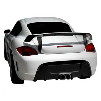 Duraflex® - Eros Version 1 Style Fiberglass Rear Bumper Cover (Unpainted)