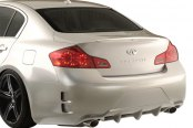 Image may not reflect your exact vehicle! Duraflex® - Elite Style Fiberglass Rear Bumper Cover (Unpainted)