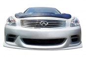Image may not reflect your exact vehicle! Duraflex® - TS-1 Style Fiberglass Front Bumper Cover (Unpainted)