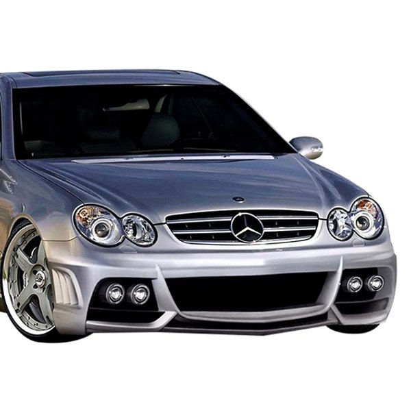 Image may not reflect your exact vehicle! Duraflex® - W-1 Style Fiberglass Front Bumper Cover (Unpainted)