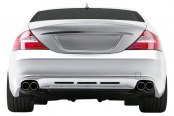 Image may not reflect your exact vehicle! Duraflex® - BR-S 2 Style Fiberglass Rear Diffuser (Unpainted)