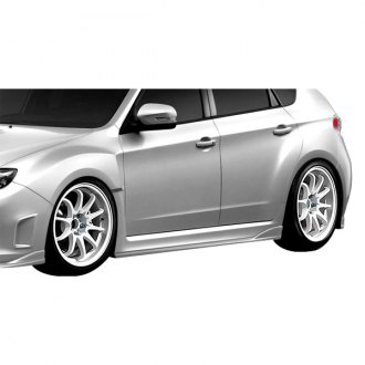 Duraflex® - C-Speed 2 Style Fiberglass Side Skirts Rocker Panels (Unpainted)