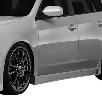 Duraflex® - C-Speed 3 Style Fiberglass Side Skirts Rocker Panels (Unpainted)