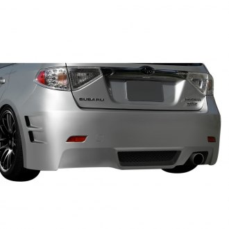 Duraflex® - C-Speed 3 Style Fiberglass Rear Bumper Cover (Unpainted)