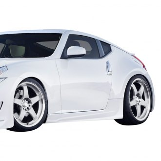 Duraflex® - AM-S GT Style Fiberglass Side Skirts Rocker Panels (Unpainted)