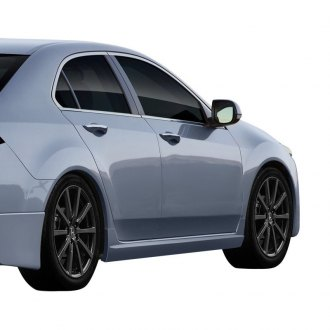Duraflex® - Type M Style Fiberglass Side Skirts Rocker Panels (Unpainted)