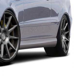 Duraflex® - SL65 Style Fiberglass Side Skirts Rocker Panels (Unpainted)