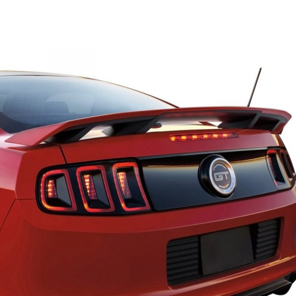 Image may not reflect your exact vehicle! Duraflex® - Boss Style Fiberglass Wing Spoiler