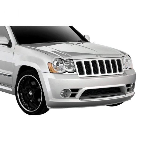 duraflex jeep grand cherokee base laredo limited srt8 2008 srt style fiberglass bumper. Black Bedroom Furniture Sets. Home Design Ideas