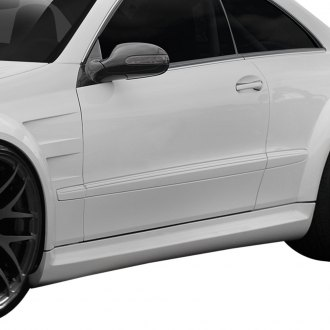 Duraflex® - Black Series Fiberglass Wide Body Side Skirts (Unpainted)