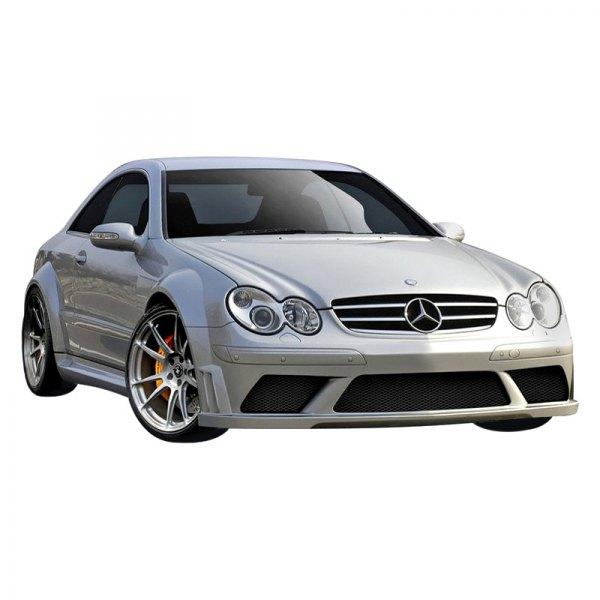 Duraflex mercedes clk500 w209 body code 2003 black for Mercedes benz clk black series body kit
