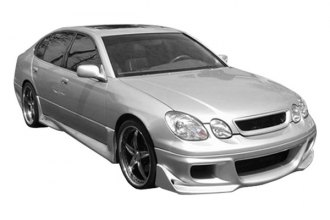 Image may not reflect your exact vehicle! Duraflex® - Cyber Style Fiberglass Body Kit (Unpainted)