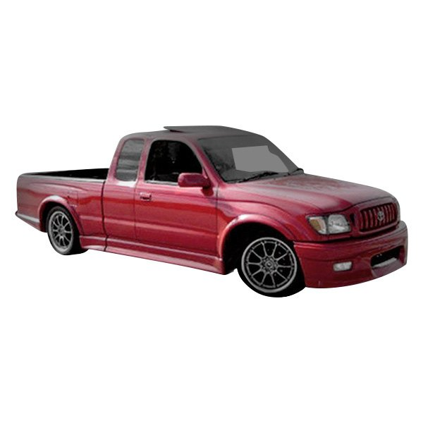 Image may not reflect your exact vehicle! Duraflex® - TD3000 Style Fiberglass Body Kit (Unpainted)