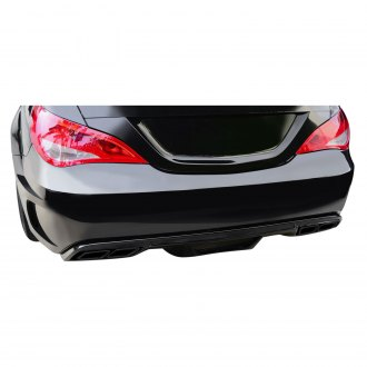 Duraflex® - Black Series Style Fiberglass Exhaust Trim Covers (Unpainted)
