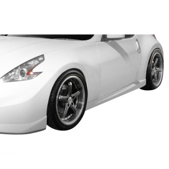 Duraflex® - N-4 Style Fiberglass Side Skirt Rocker Panels (Unpainted)