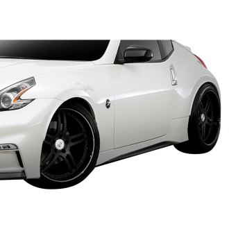 Duraflex® - N-3 Style Fiberglass Side Skirt Rocker Panels (Unpainted)
