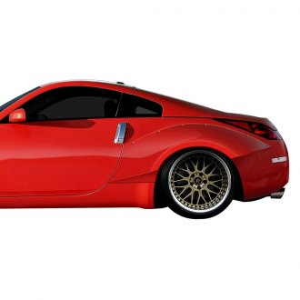 Duraflex® - Circuit Style 90mm Rear Fender Flares (Unpainted)