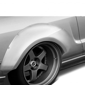 Duraflex® - Circuit Style 75mm Rear Fender Flares (Unpainted)