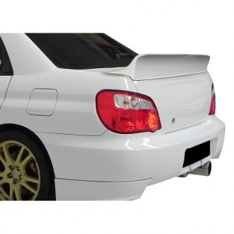 Duraflex® - Downforce Style Fiberglass Rear Lip Spoiler (Unpainted)