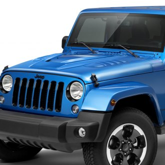 2008 Jeep Wrangler Custom Hoods Carbon Fiber Fiberglass