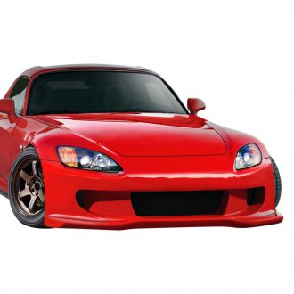 Duraflex® - AMS2 Style Fiberglass Front Bumper with Integrated Lip (Unpainted)