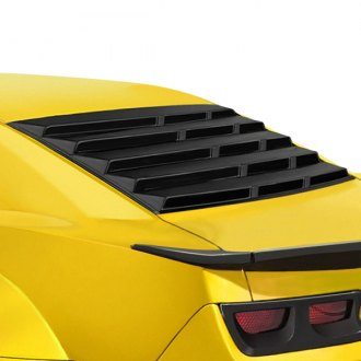 Duraflex® - CCG Style Fiberglass Rear Window Louvers (Unpainted)